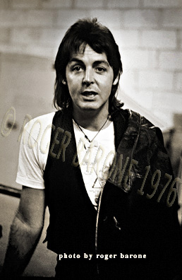 paul mccartney backstage