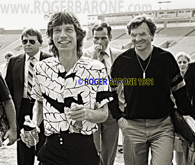 mick jagger bill graham photo